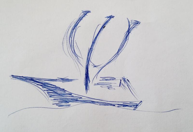 Векторизиране логото на Лапакъ от предварително подадена от клиента рисунка