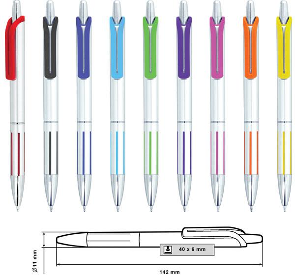 Пластмасови химикалки модел: № MP-9155A