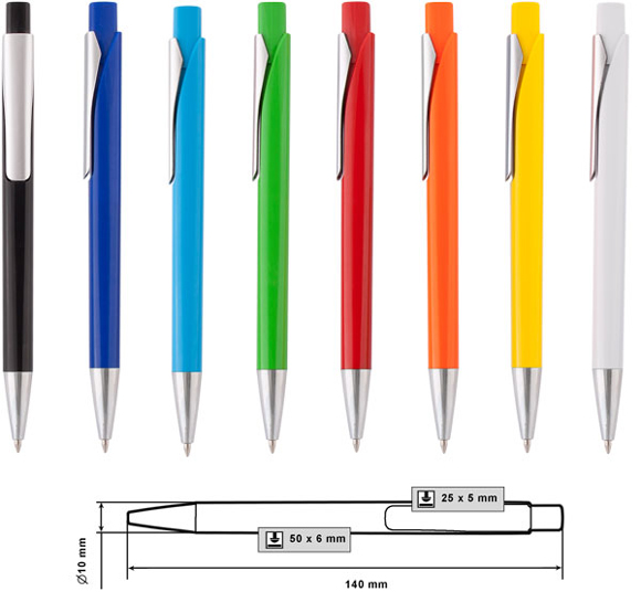 Пластмасови химикалки модел: № MP-9123D