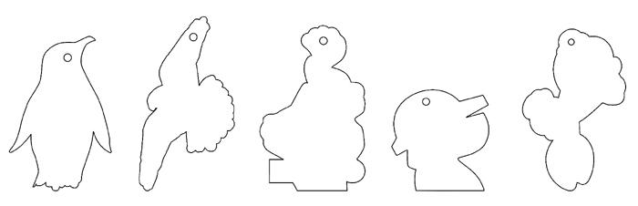 Ароматизатори с различна форма