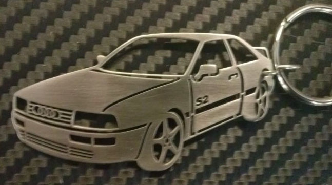 Ауди модел coupe, B3