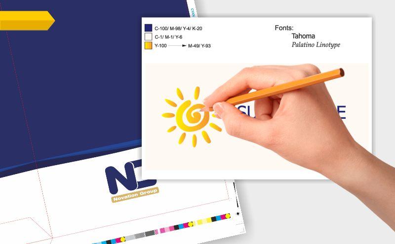 Изисквания към файла за печат на визитки, флаери